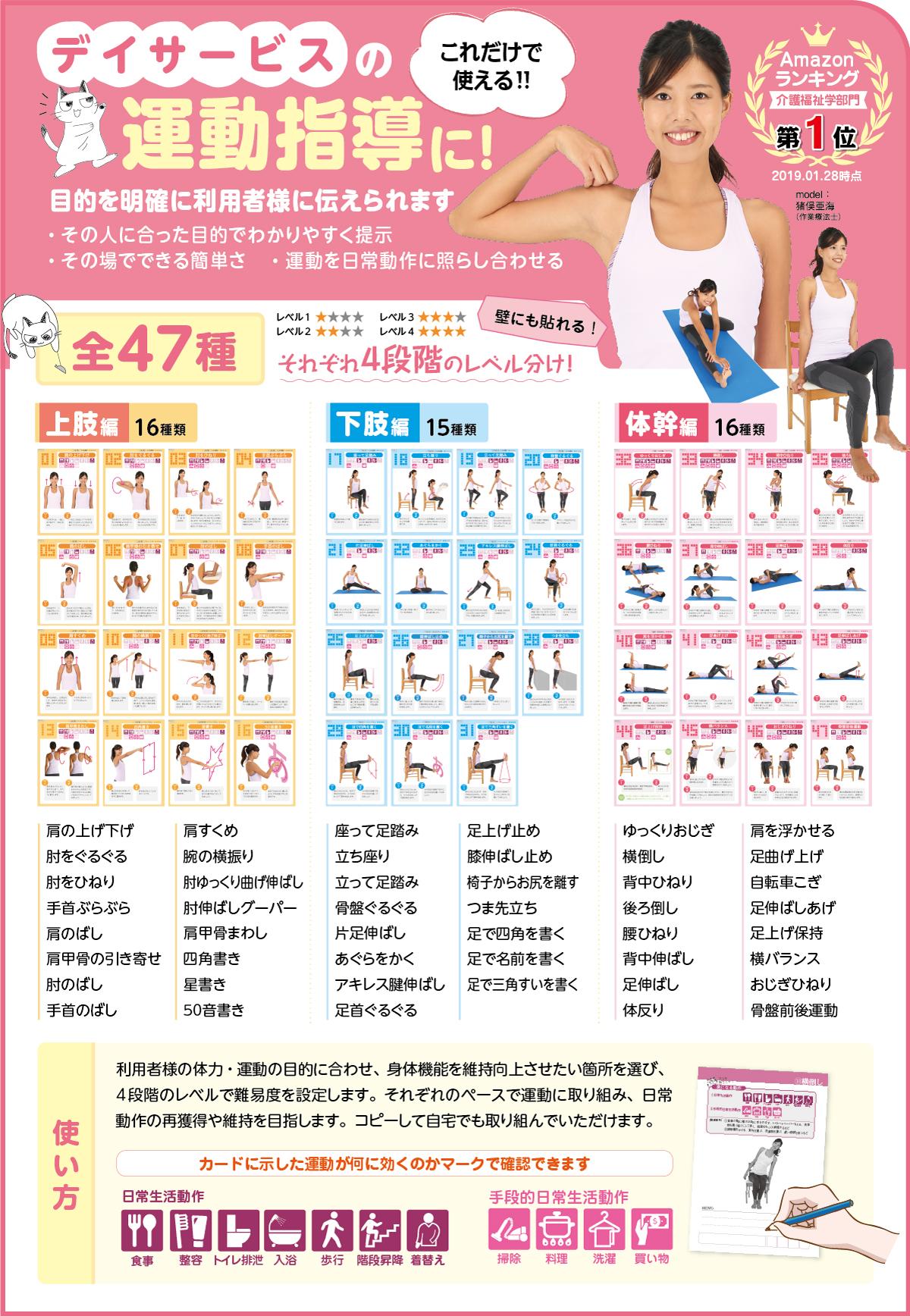 運動療法カードブックのご紹介